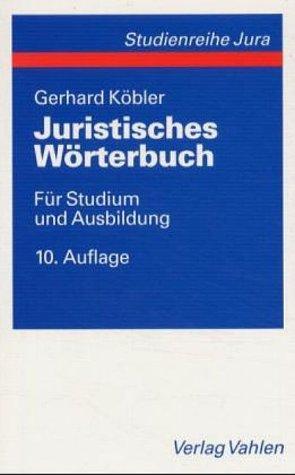 Download Juristisches Wörterbuch