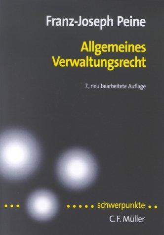 Download Allgemeines Verwaltungsrecht