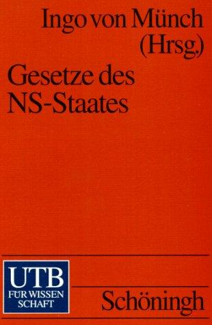 Gesetze des NS-Staates