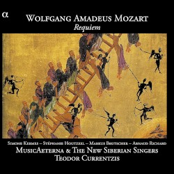Requiem by Wolfgang Amadeus Mozart ;   Simone Kermes ,   Stéphanie Houtzeel ,   Markus Brutscher ,   Arnaud Richard ,   MusicAeterna ,   The New Siberian Singers ,   Teodor Currentzis