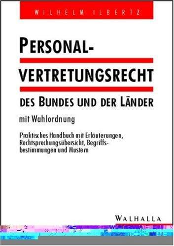 Personalvertretungsrecht des Bundes und der Länder